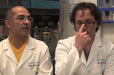 photos Dr. Solieman and Dr. Litner